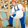 Professional builder — Stock Photo