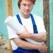 Professional builder — Stock Photo #10242000