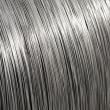 Stock Photo: Aluminium wire spool texture