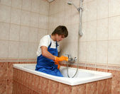 Professional cleaning — Foto de Stock