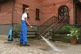Limpieza profesional — Foto de Stock