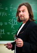 Physics teacher — Stock Photo