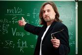 Physics professor — Stock Photo