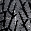Winter thorn tire texture — Stock Photo