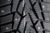 Winter thorn tire texture — Zdjęcie stockowe