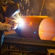 Welder at work - Stock Photo