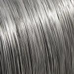 Aluminum wire spool texture — Stock Photo #9475731