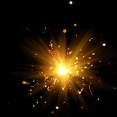 Brandende sparkler — Stockfoto