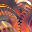 Abstract gears — Stockfoto