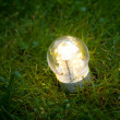 Led lamp on grass — Stock Photo #9878191