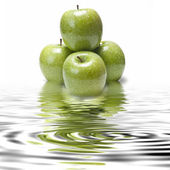 Apple's freshness. — Stock Photo