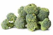 Fresh broccoli isolated. — Stock Photo