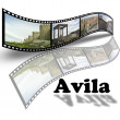 Avila in Spain — Stock Photo