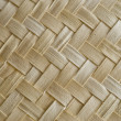 Stock Photo: Texture of woven straw.