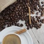 Still life about espresso. — Stock Photo #9210383