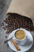 Natura morta sul caffè. — Foto Stock