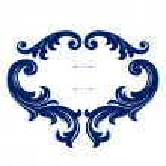 Vintage emblem border — Stock Vector