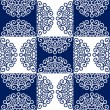 Round lace ornate pattern - Grafika wektorowa