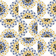 Round ornate background pattern — ベクター素材ストック