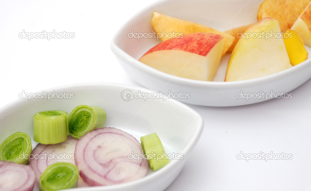Onion,apple,diet, — Stock Photo #10017164
