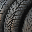 Tires,used and new — Stock Photo