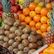 Stock Photo: Fruits in market