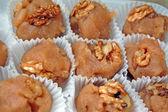 Halva with wallnuts — Stock Photo
