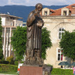 Monument of st.clement, ohrid,macedonia — Stock Photo