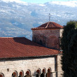 Church saint sophia in ohrid,macedonia - Stock Photo