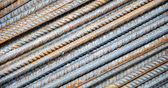 Varillas de acero, textura — Foto de Stock
