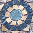 Geometric stone pattern - Stock Photo