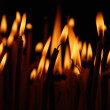 Flame of candles — Stock Photo
