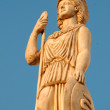 Caryatid in greece — Stock Photo