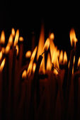 Candle flame — Stock Photo