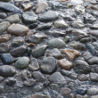 Stock Photo: Grey macadam , stones