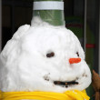 Stock Photo: Snow man