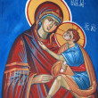 St . mary, macedonian ortodox fresco — ストック写真
