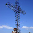 Ortodox cross in macedonia — Stock Photo