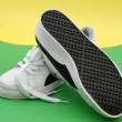 Stock Photo: New sport shoes