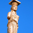 Caryatid in greece — Stock Photo #9546950