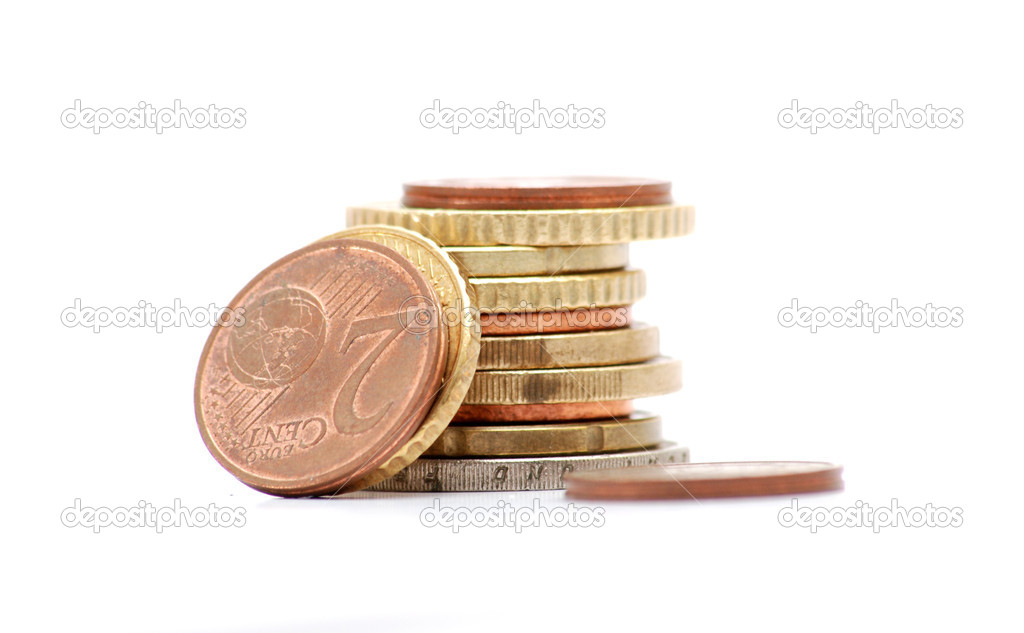 Euro coins — Stock Photo #9713261