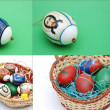 Easter collage — Stock Photo #9846054