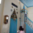 Inside the mosque,looking the mihrab — Stock Photo