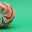 Origami basket, details — Stock Photo