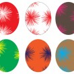 Beautiful Easter eggs illustration — Stock Vector #10252558