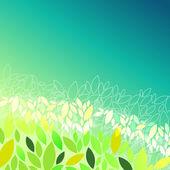 Piękna wiosna liści — Wektor stockowy
