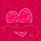 Romantic Valentine — Stock Vector