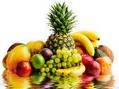 Fruits isolated — Stock Photo
