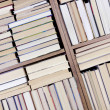 Books on a shelf — Stock Photo