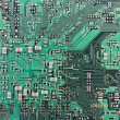 Modern printed-circuit board macro background — Stock Photo #8265894